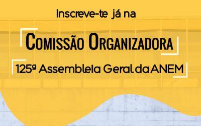Comissão Organizadora | 125ª Assembleia Geral ANEM