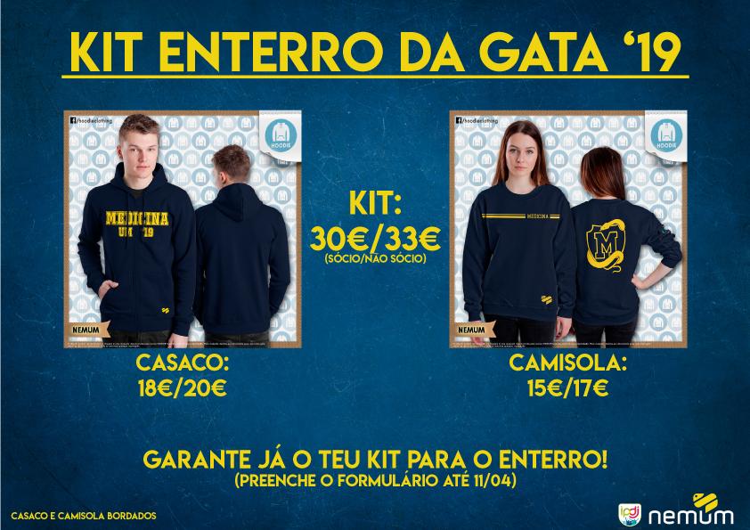 Kit Enterro da Gata '19 – Reserva Já!