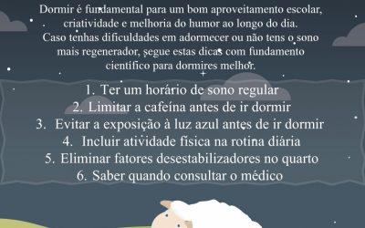 NEMUM ACONSELHA: Hábitos de Bom Sono