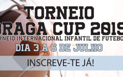 TORNEIO INTERNACIONAL DE FUTEBOL INFANTIL BRAGA CUP: Inscrições para Staff Médico e Procurar Saúde