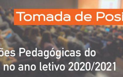 Condições Pedagógicas do MIMED para o ano letivo 2020/2021