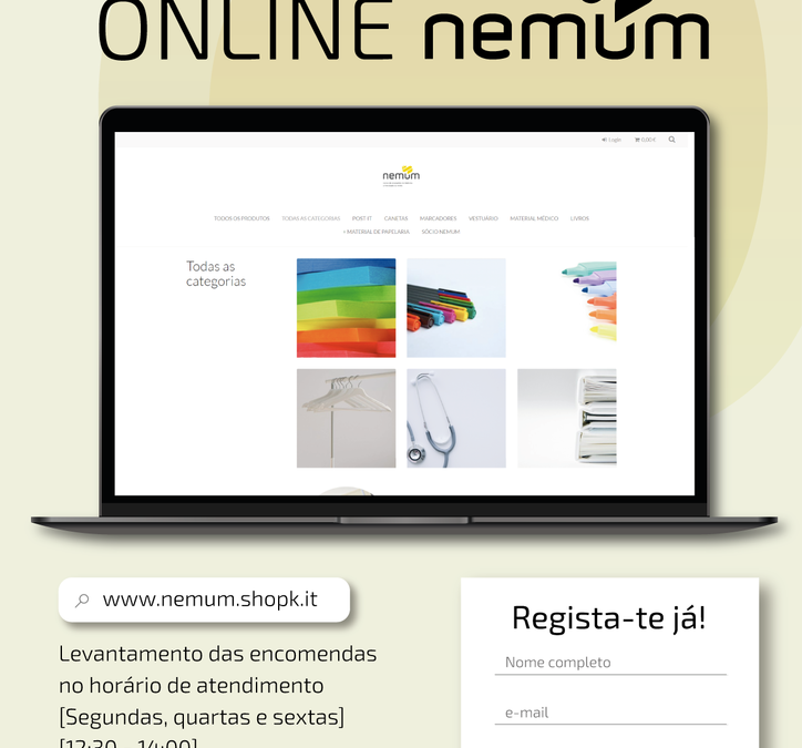 Loja NEMUM Online