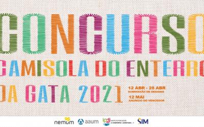 Concurso para o design da camisola de curso para as Monumentais Festas do Enterro da Gata 2021